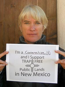 Conservative (R) NM citizen for-trap-free public lands