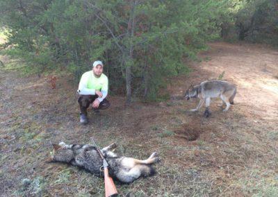 brave man tortures wildlife