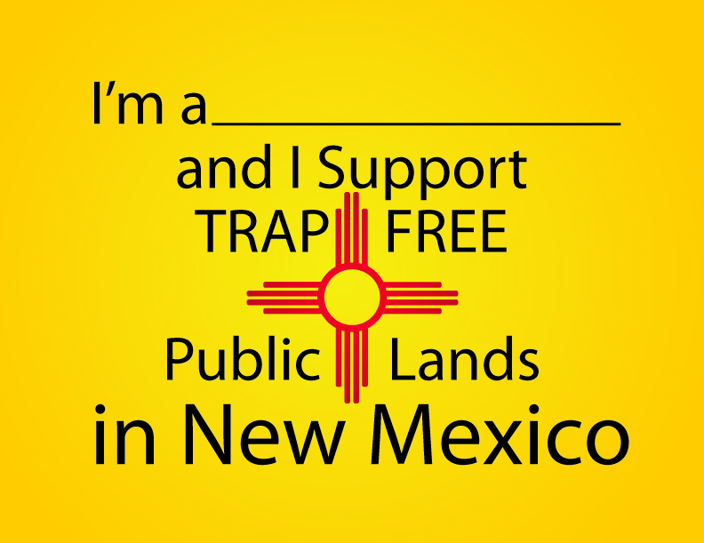I Support Trap-Free Public Lands